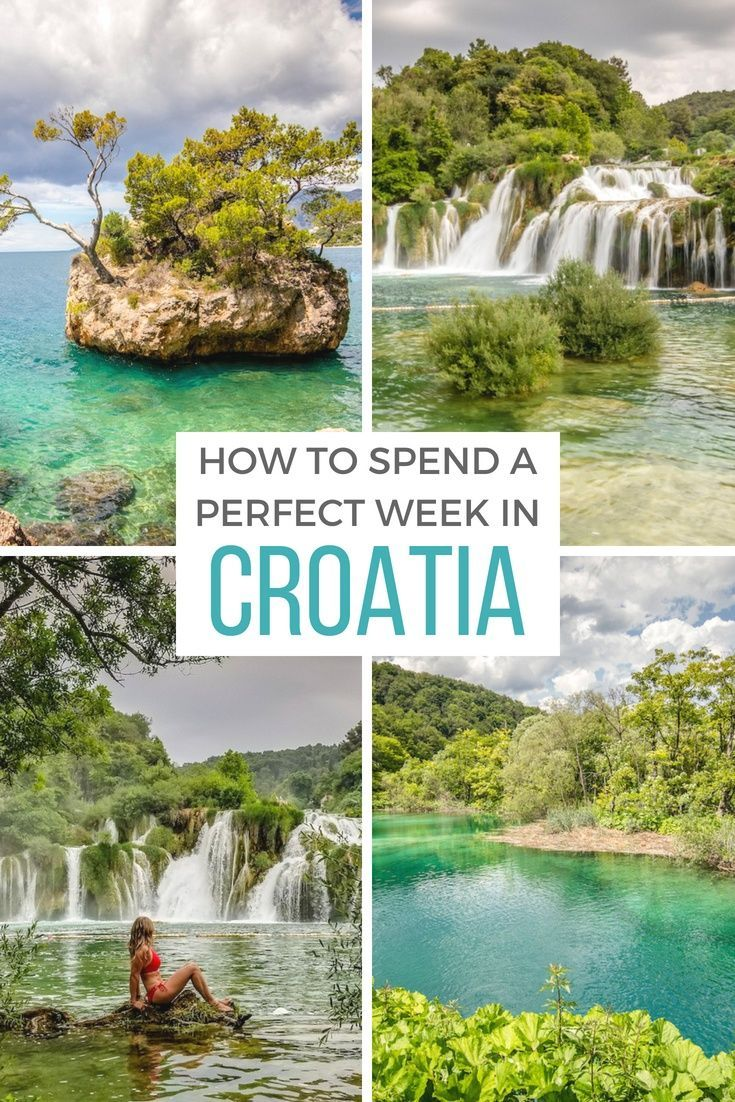 One week in #Croatia: The best places for the ultimate road trip itinerary.  #Ba…