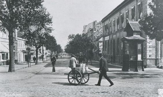 Trondheim, Norway in circa 1920