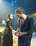 The Crucible by Arthur Miller, directed by Yael Farber. With Richard Armitage as John Proctor, Anna Madeley as Elizabeth Proctor. Opens at The Old Vic Theatre  on 3/7/14  pic Geraint Lewis
