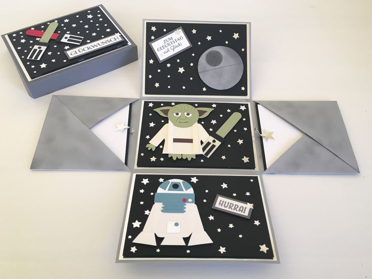 Звездные войны открытка своими руками