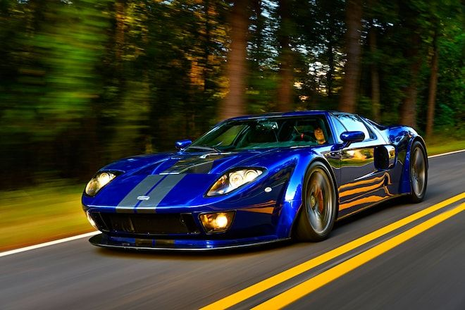 A Ford Gt Doppelganger On Steroids Ford Gt Car Ford Sports Cars