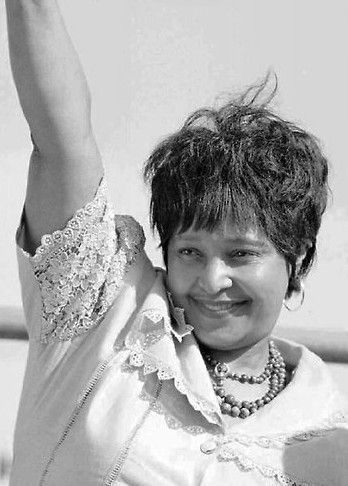 A South African magistrate has ordered Winnie Madikizela-Mandela to auction off scores of paintings, sculptures and a silver tea set...