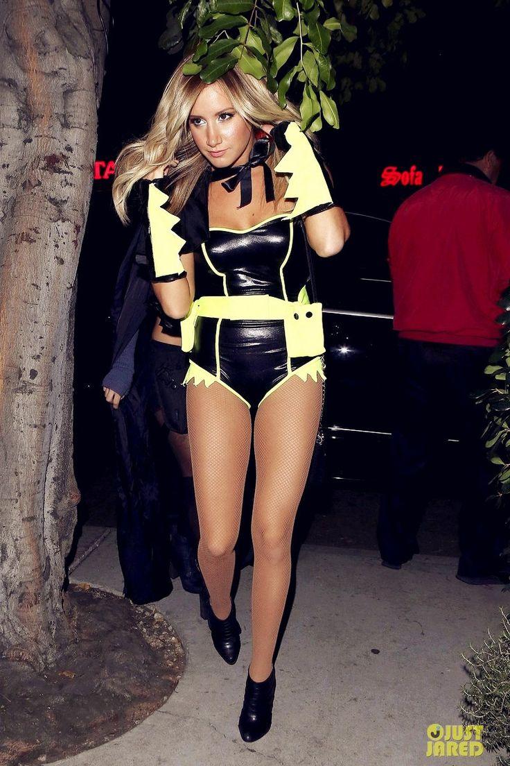 ashley tisdale halloween ashley tisdale batman for halloween - Ashley Tisdale Halloween
