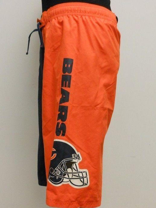 Chicago BEARS Swimtrunks Board Shorts Boy's size 10/12 NeW Swim Trunks Helmet #NFL #SwimShorts