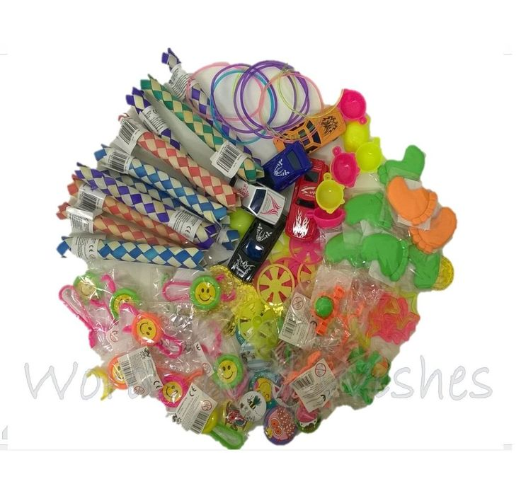 100 Job Lot Bundle Boys & Girls Kids Party Bag Filler Lucky Dip Reward Toy Prize