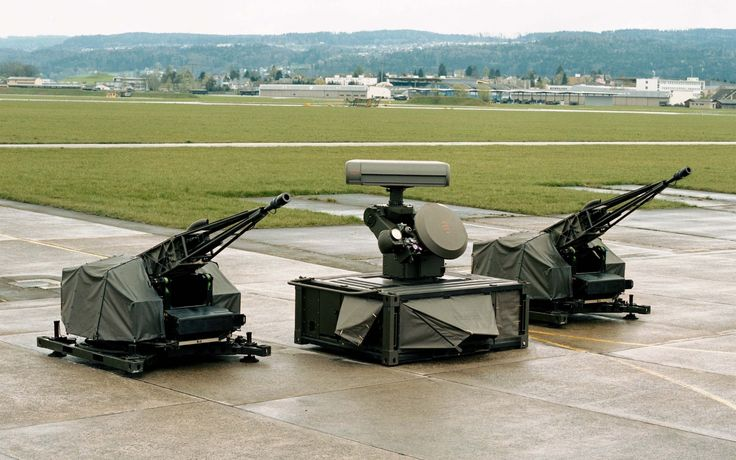 Oerlikon Skyshield Air Defence System Modern Armored
