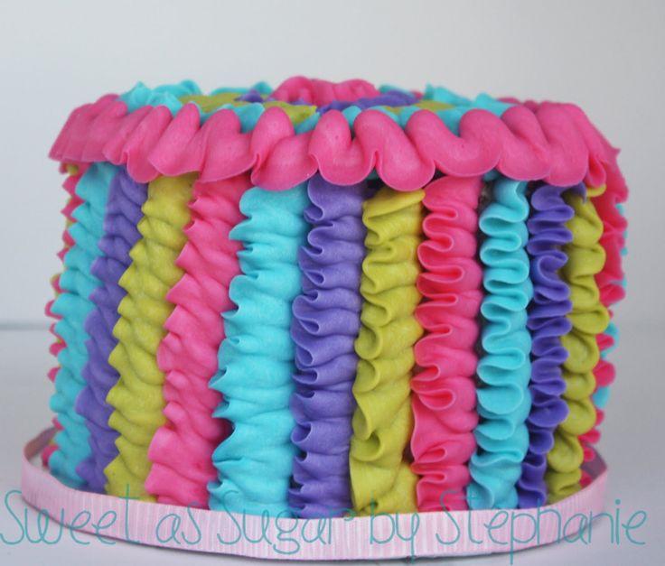 cute smash cake idea!
