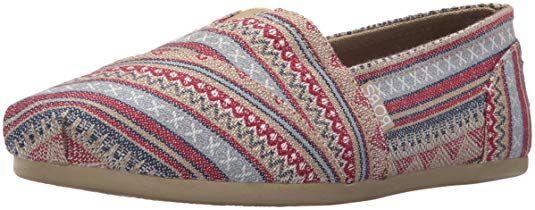a93f1b6e220c3 BOBS from Skechers Women's Plush-Lil Fox Flat, Aztec Tan, 10 M US ...