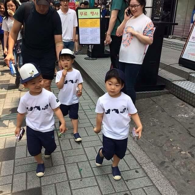 Introducing Sassy man Manse, Celebrity Minguk and Slutty Daehan with a lollipop xD