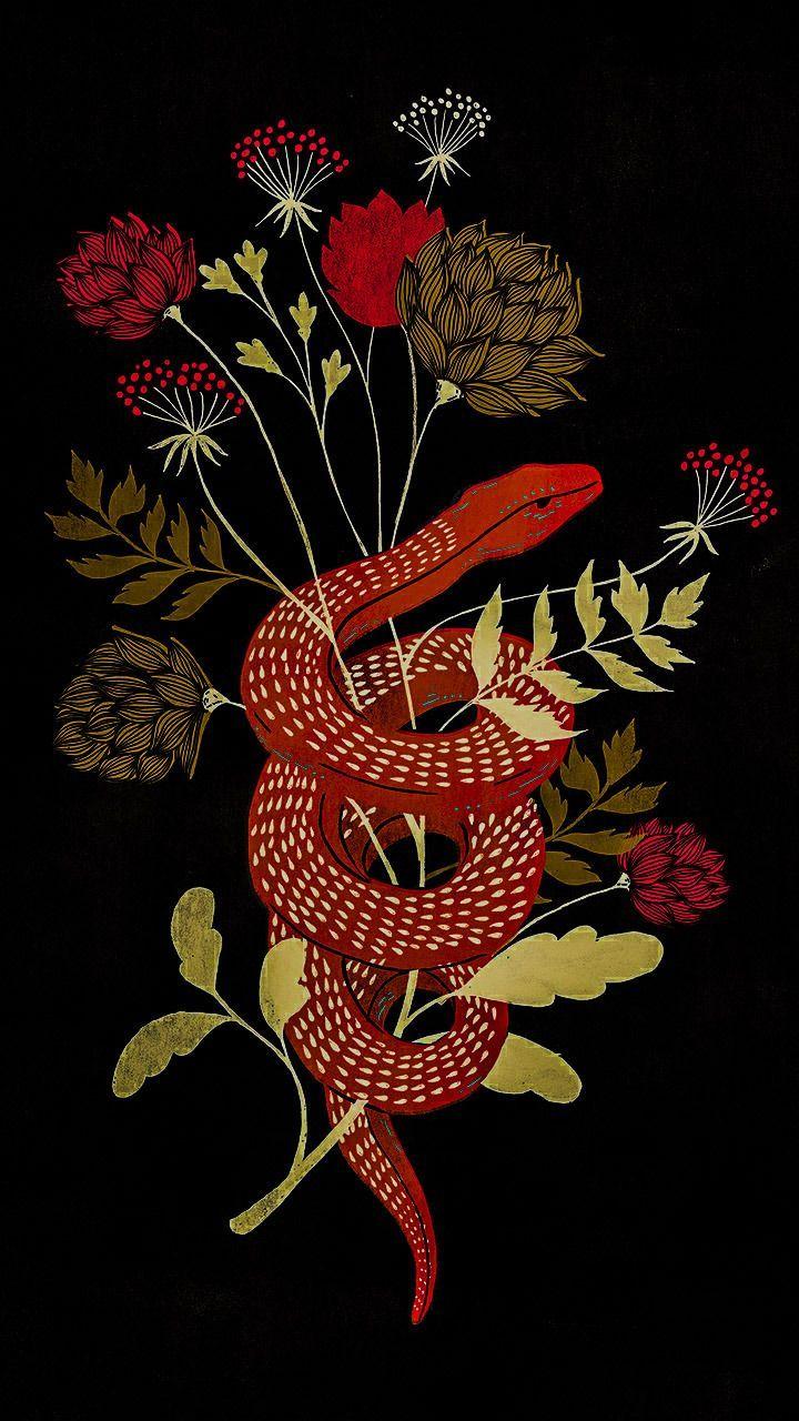 wallpaper | Tumblr Serpent tattoo