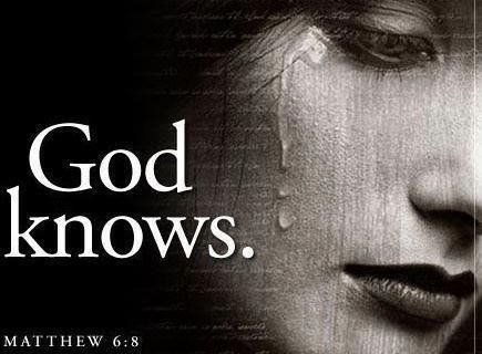 God knows....