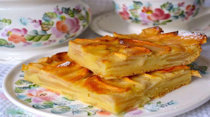 Вкусный яблочный пирог из самой Франции