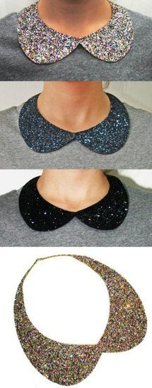 MODA QUE MOLA by Lili Rodriguez: DIY, Hazlo Tu Misma: Collar Cuello, Collar Peter Pan
