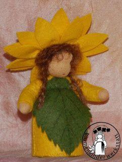 Blumenkinder-Werkstatt: Sonnenblume, Sunflower