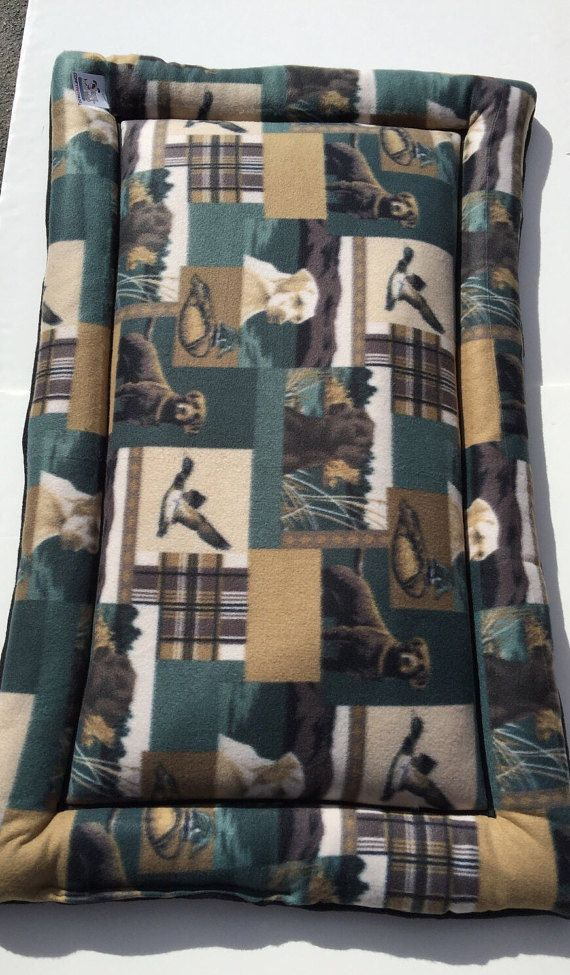 Dog Crate Pad, Crate Pet Mats, Hunting Dogs, Labrador Fabric, Dog Bed Large, Plush Kennel Mat, XL Dog Bed, Large Crate Mat, Dog Kennel Pad #XlDogBed #CouchCushion #CratePetMats #HuntingDogs #LargeCrateMat #DogBedLarge #30x48CratePad #LabradorFabric #XlPetMat #DogCratePad