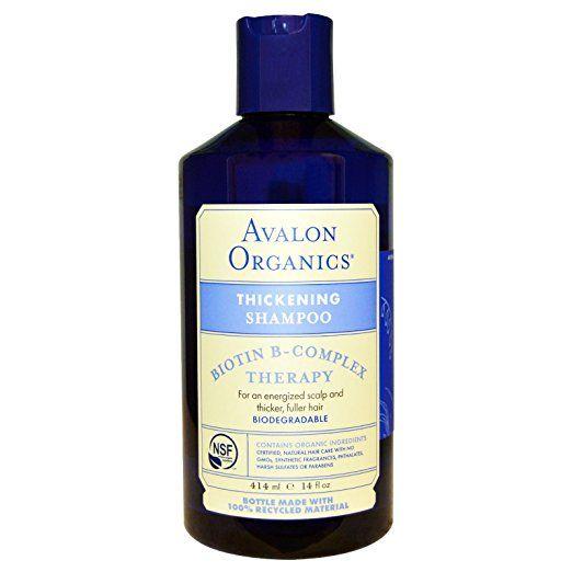 Avalon Organics Thickening Shampoo: