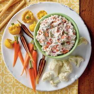 Our Best Portable Appetizers   Smoked Salmon Dip    MyRecipes
