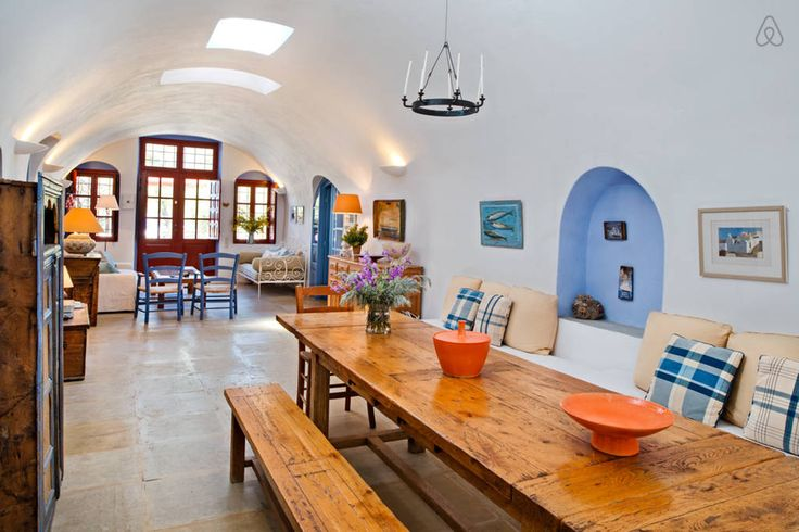 Take a look at 12 of our favorite Airbnbs in Greece and compare them to your last hotel stay.