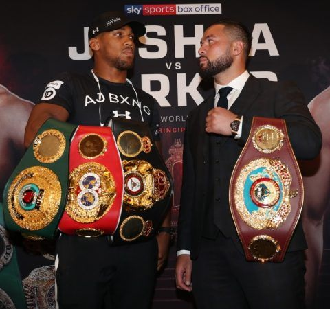 Anthony Joshua vs. Joseph Parker Live on Showtime March 31 #AnthonyJoshua #MatchroomBoxing #allthebelts #boxing