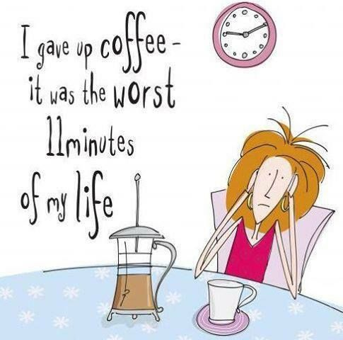 How long could you go without #coffee?