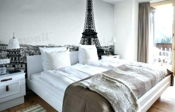 Paris Themed Bedroom Wallpaper