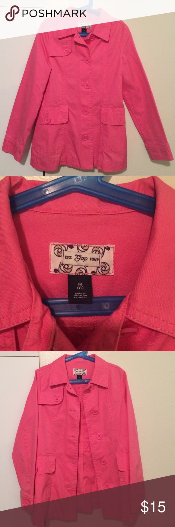 jacket from Gap❗️Make An Offer❗️ Beautiful Pink Gap jacket for girls GAP Jackets & Coats