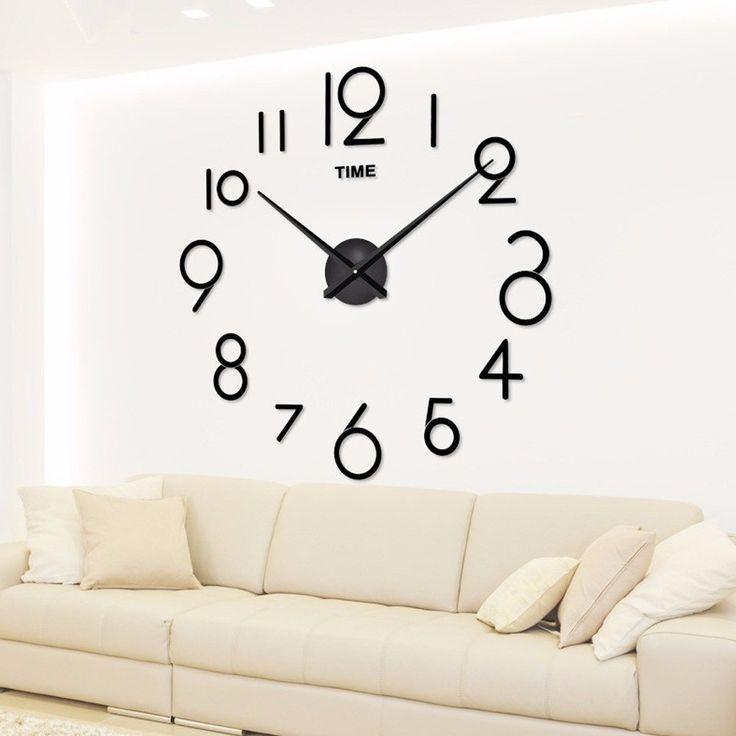 Stylish Innovative And Easy Diy Wall Clock Ideas That Will Stun You Crafts Zen Diy Clock Wall Diy Wall Large Wall Clock