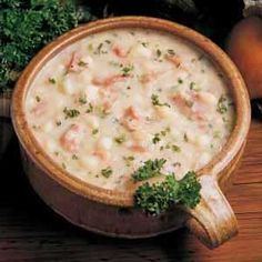 U.S. Senate Bean Soup Recipe: Chock-full of ham, beans and celery, this hearty soup makes a wonderful meal at any time of year. Freeze the bone from a holiday ham until you're ready to make soup. Plus, once prepared, it freezes well for a great make-ahead supper! —Rosemarie Forcum White Stone, Virginia