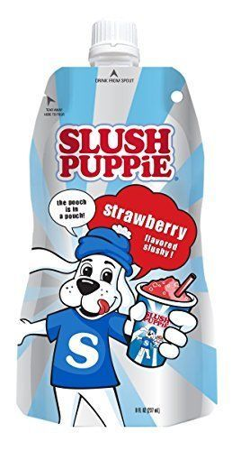 Fruit Juices 179176: Icee Slush Puppy Pouches Strawberry 8 Fl.Oz 24Pc Fruit Juices, New -> BUY IT NOW ONLY: $33.73 on eBay!