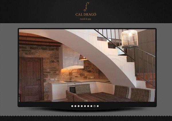 55 best web creativas images on pinterest website for Hotel rural diseno