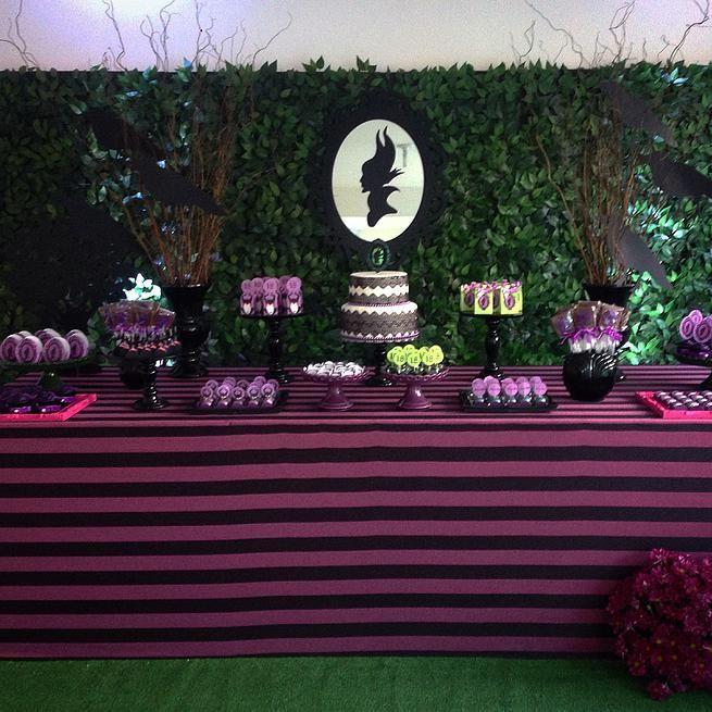 Criancices Festas e Eventos | Decoração Festas Infantis Recife | Malévola