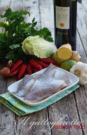 Filetto di Pagello in salsa Sichuan e Olio Flaminio Dop Umbria Colli Assisi Spoleto