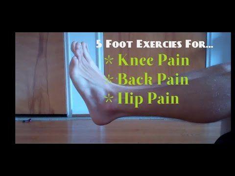 5 cvičení chodidiel, ktoré zmierňujú bolesti chrbta, bedier a kolien | Info.sk