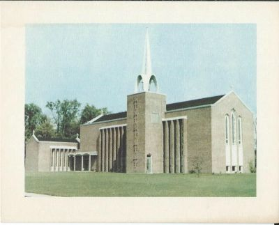 St. Peter's Anglican Church, Ingleside, Ontario, circa 1967