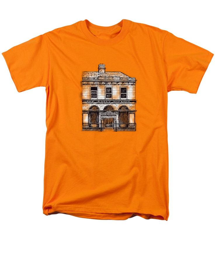 Purchase an adult t-shirt featuring the image of Old Abbey Theatre 1 Dublin by Alan Hogan.  Available in sizes S - 4XL.  Each t-shirt is printed on-demand, ships within 1 - 2 business days, and comes with a 30-day money-back guarantee. #ireland #irisharchitecture #irishtshirts #dublintees #dublinfashion #oldbuildingsontshirts #abbeytheatredublin #illustrations #dublincity #visitdublin #theatre #famoustheatres #seanocasey #theploughandthestars #dublinhistory #dublin #playhouse #acting
