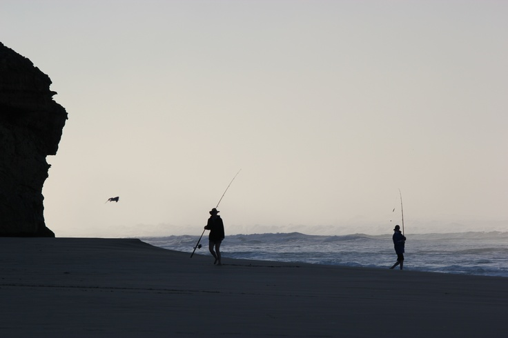 Early morning fishing - Lock's Well near Elliston SA