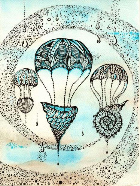 Grafika Flying shells - Mood Moments