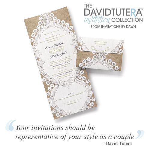 The David Tutera Invitation Collection