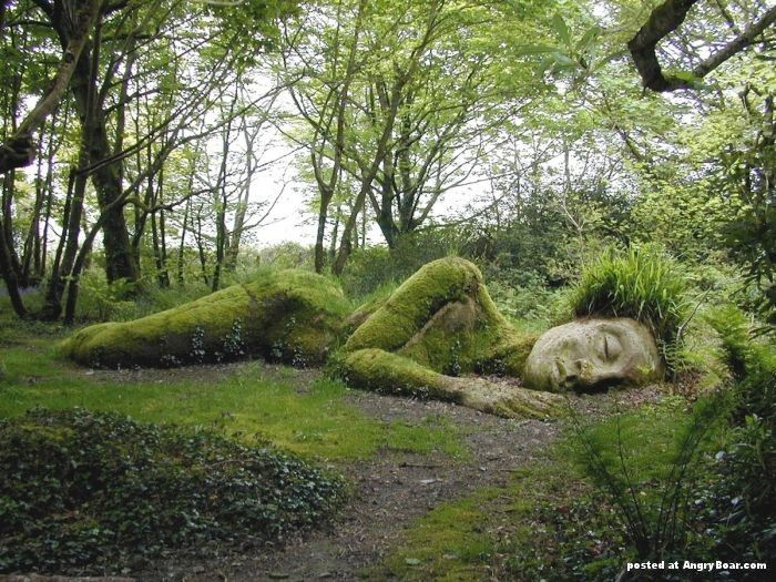 World's most interesting green gardens. More images here: http://www.angryboar.com/?p=15301