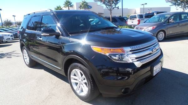 2015 FORD EXPLORER XLT! CERTIFIED PRE OWNED! 1 OWNER! ONLY 36K MILES!