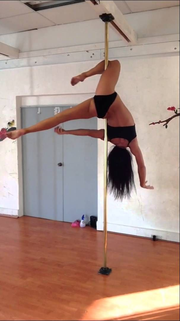 Afternoon Freestyle at Pole Dance Academy - Michelle Shimmy