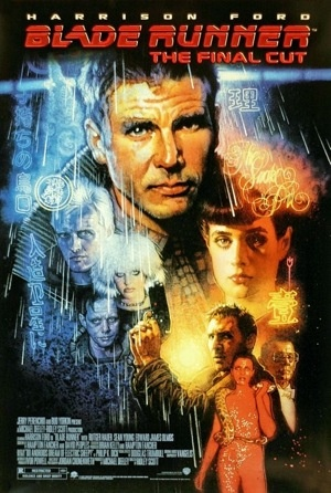 """Whether you like it or not, """"Blade Runner"""" has probably the most convincing and complete world for its story. This came from Ridley Scott spending more time on background details than he did directing actors.: Film, Movie Posters, Blade Runner, Movies, Runners, Drew Struzan, Final Cut, Sci Fi, Blade Runner"""