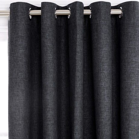 Otway Blockout 180x250cm Eyelet Curtain Midnight
