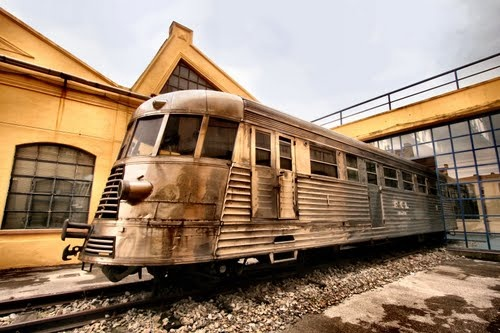 Museo Piaggio in Pontedera, Visit it when you are in Tuscany, and yes, we made trains!