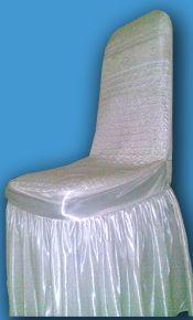 Sarung kursi Model Futura kotak dan bulat bordir yg membuat dekorasi kursi anda terasa nyaman elegant terbuat dari bahan melamin bordiran kwalitas terbaik yang tidak cepat pudar , untuk warna dan ukuran disesuaikan dengan permintaan konsumen. info 08181 0721 5373 / 26e6ab5c