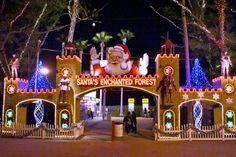 Welcome to Santa's Enchanted Forest in Miami.