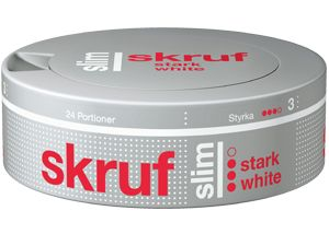 Skruf Slim Strong White Portion