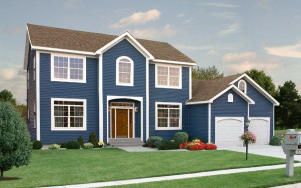 Hausfassaden Farben - welche Farbe wird Ihrem Haus Glanz verleihen? - http://freshideen.com/architektur/hausfassaden-farben.html