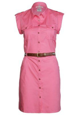 INEZ - Vestido camisero - 338bright pink