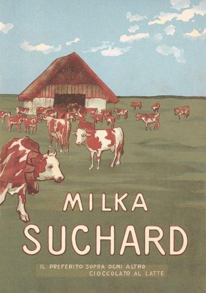 La pubblicità del cioccolato Milka anni '10